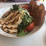 O'o Farms Ceasar salad with Grilled chicken