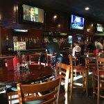 Bar seating & taps