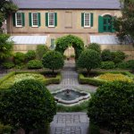English-inspired parterre garden, and carriage house (with original slave quarters)