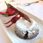Lava cake extraordinaire.