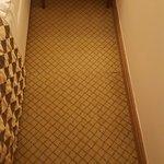 Geflickter Teppich