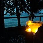 Margarita and ocean view
