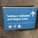Salisbury Cathdral - very short walk away!