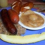 German Sausage Sampler Platter