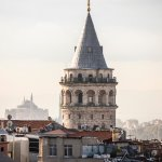 Vie from terrace - Galata Tower