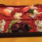 Sashimi And Sushi Lunch Box