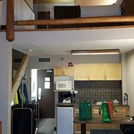 Loft above kitchenette