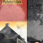 The menu tells the story of Alice Kyteler. True? Who knows!