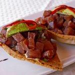 Las famosas tostadas de atún