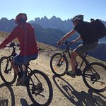 ebike Tour auf den Ploseberg und den downhill Trail runter