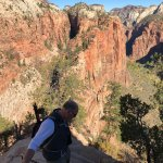 #1- high five buddy... contact me! I hope you survived our scare, too!! Angels Landing is NOT fo