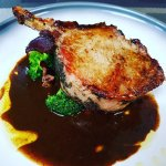 Veal Chop, simple, delicious