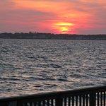 Beautiful sunsets abound