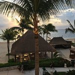 From our balcony on 10/19/17 Excellence Puerto Morelos