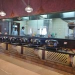 Open kitchen - you can see the Indian dishes being cooked!