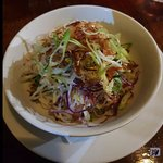 Coconut and Pickled Papaya Salad - delicious $ 8.00