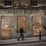 Royal Mile Side Street, Edinburgh