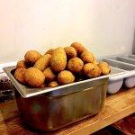 Kibbeh bulgur (Friday's food market)