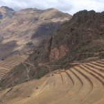 Pisac, one of the scenic Inca ruins in the Sacred valley