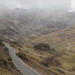 Road on the way into Lares