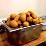 kibbeh burghul filled with meat
