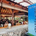 Kuta Puri restaurant from section
