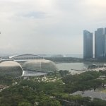 Fairmont Singapore room and views