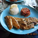 Filets de sardines et maquereaux grillés
