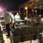 preparing BBQ night