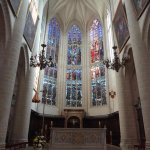 Notre-Dame de Dole (vitraux du choeur)