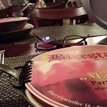 Das ist die Speisekarte :)