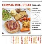 German roll steak