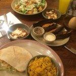 Chicken Salad & Chicken Pitta