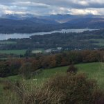 View from Orrest Head over Lake Windermere and the mountains
