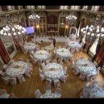 Ballroom set for Wedding breakfast!!
