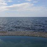 Saltwater pool and Ocean