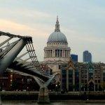 St Pauls from the Millennium Bridge