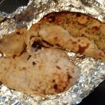 Aloo Parantha and Pudina Parantha uncooked not even undercooked