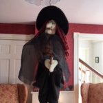 Salem Witch in the communal lounge