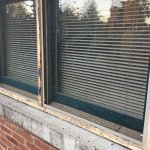 rotten windows, musty room, smelly sheets, broken a/c and shower