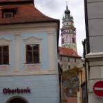 Looking at palace tower from town square.