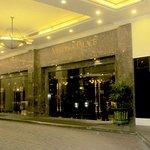 Front entrance of Merdeka Palace Hotel
