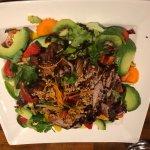 House Salad with Roast Duck & Hoisin Sauce