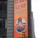 Cartel del Restaurante en Times Square