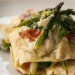 lasagne ze szparagami