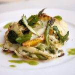 lasagnetta z zielonymi warzywami