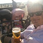 Daddy day care at the Pier