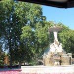 monumento que adorna el parque 2