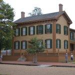 The original Lincoln Home
