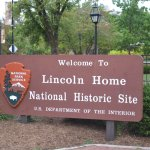 The Lincoln house in Springfield, Illinois